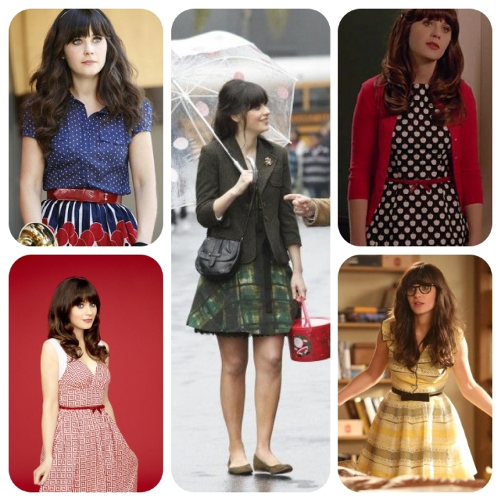 collage new girl 2