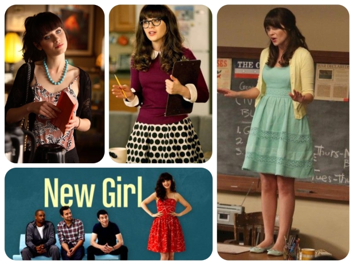 collage new girl