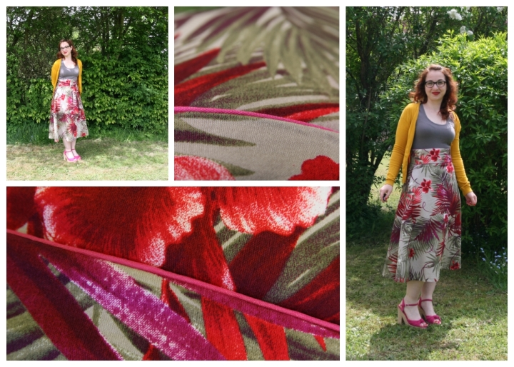 collage strickjacke